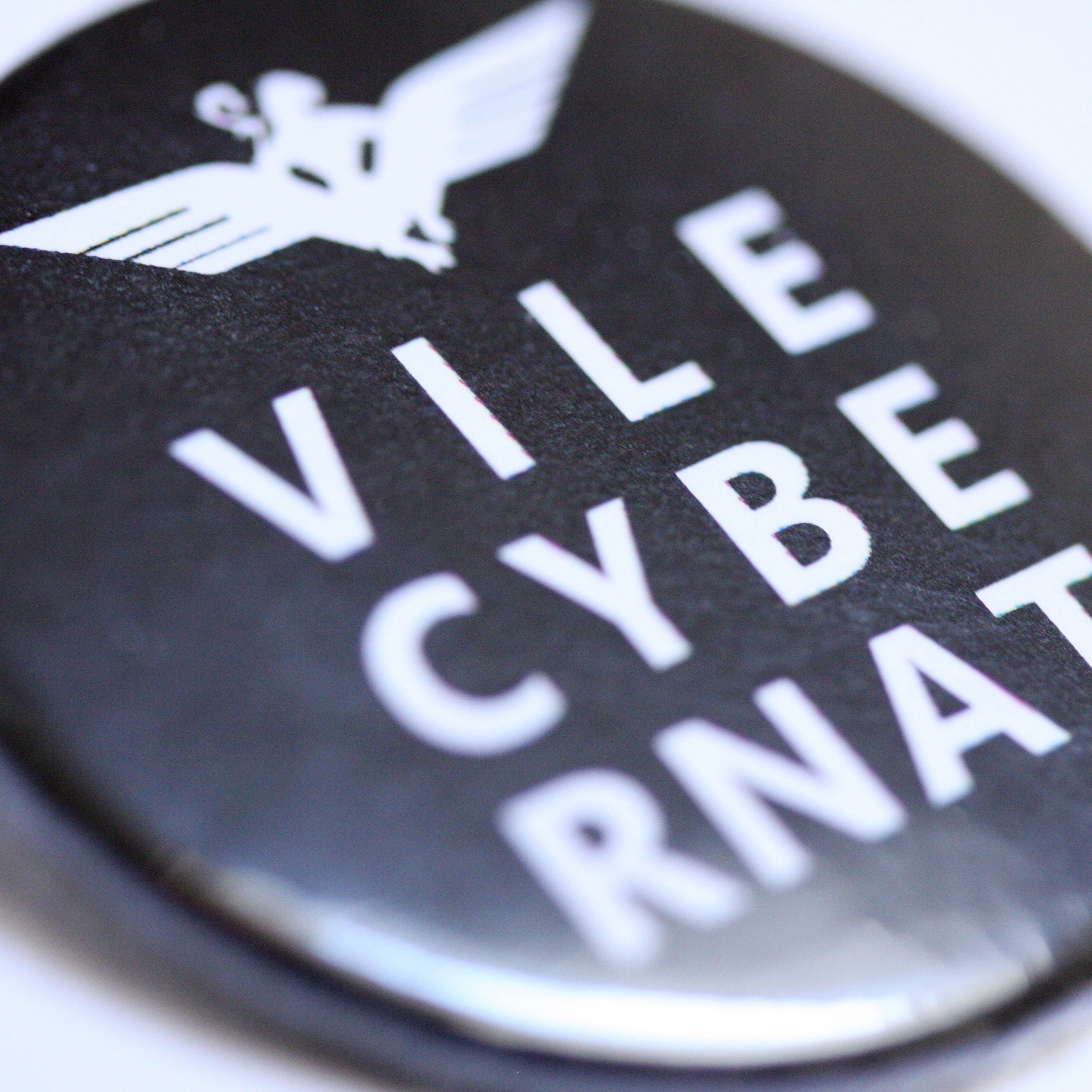 Vile Cybernat 38mm badge